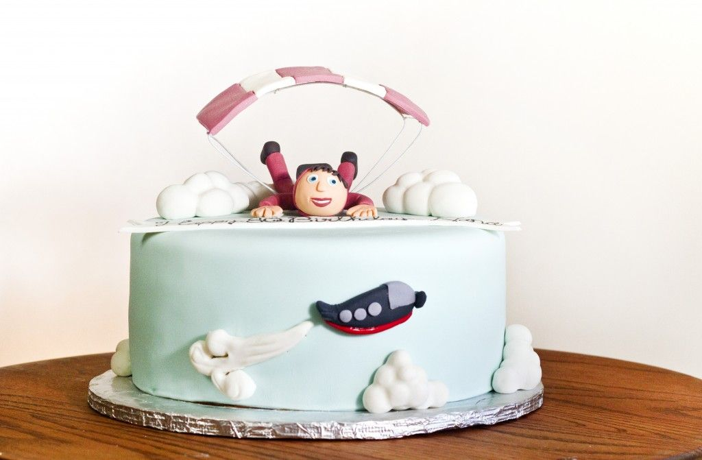 Skydiving Cake Created By Sweet Chariot Cakes In Fresno Ca