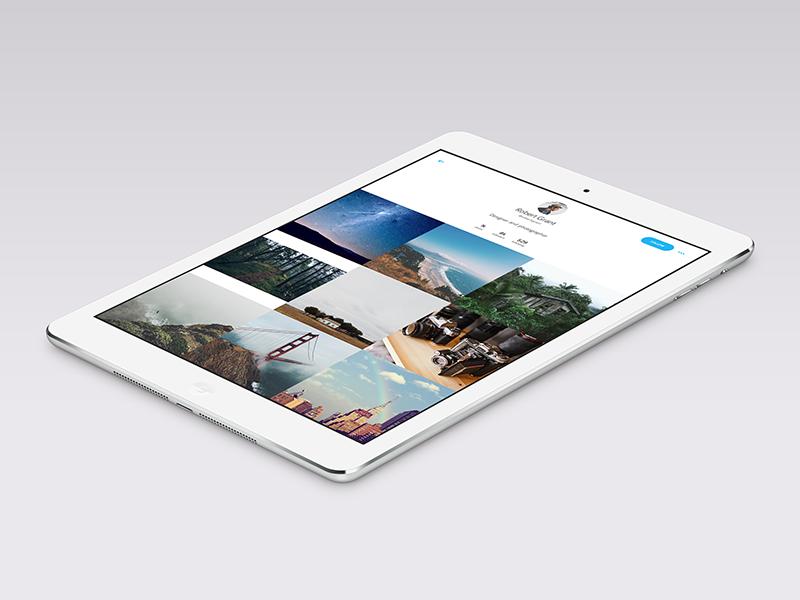 Instagram iPad app concept Ipad, App, Instagram