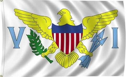Usvi Flag Virgin Islands Flag Graphic Design Portfolio Cover Flag Design