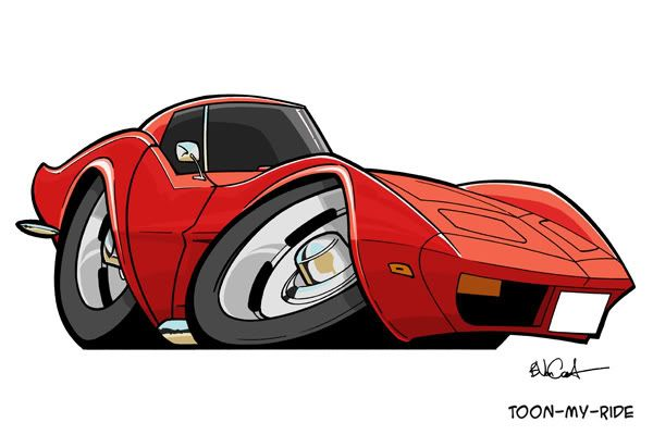 Corvette Cartoon Images Little Red Corvette Or A Pic Of A Little