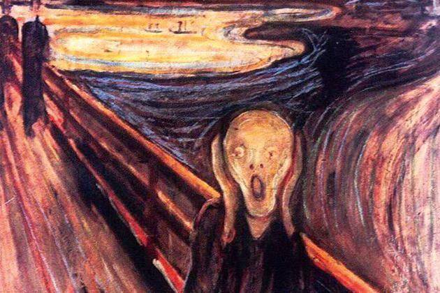 Skriget af Edvard Munch