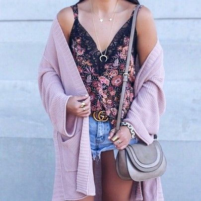 cd8e2005832e Blogger sarah lindner of the house of sequins wearing free people floral  cami. sole society
