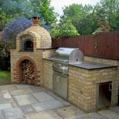 Photo of Cucine da esterno e aree barbecue Giardini da giardino dal design mediterraneo …