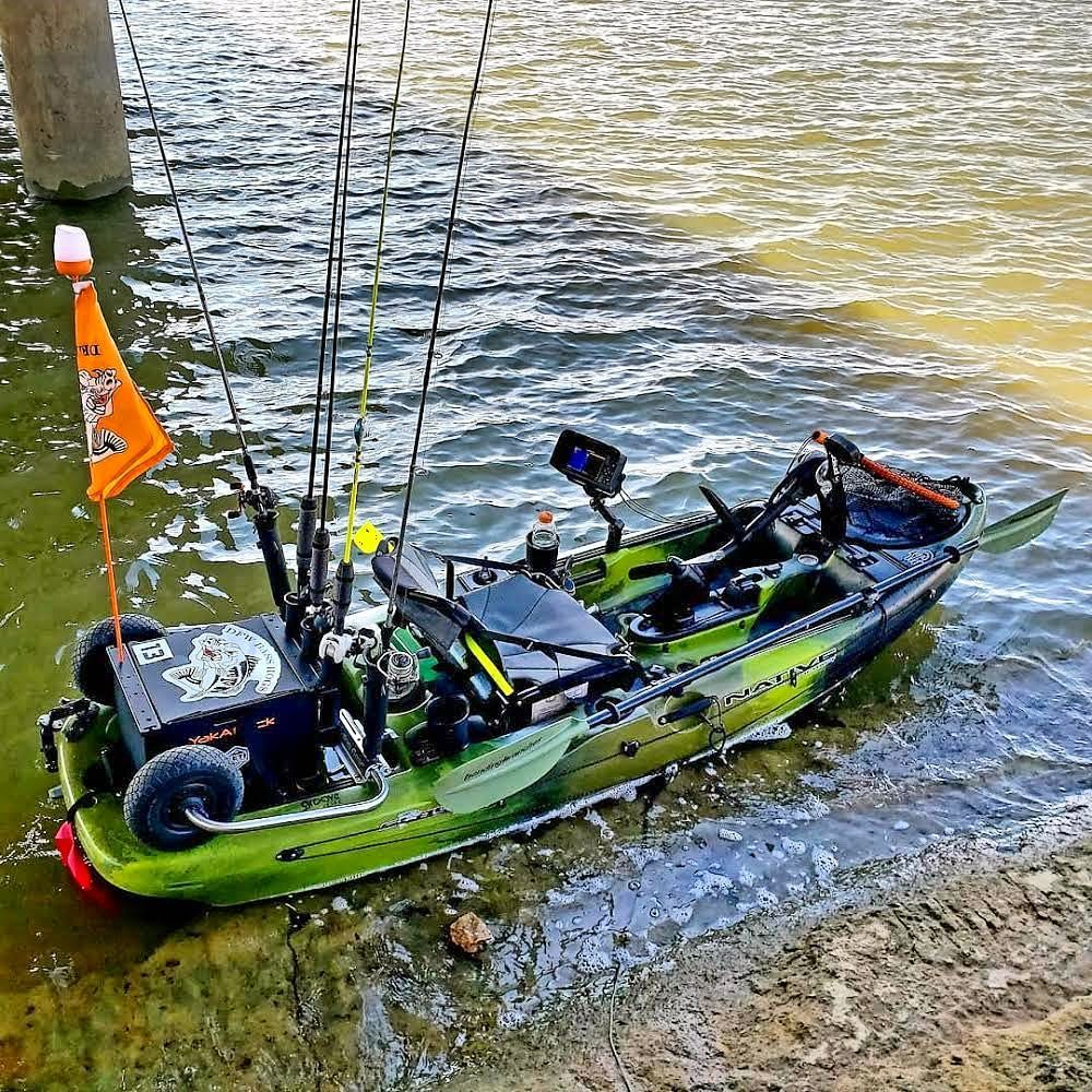 Check Out This Slayer Propel 10 Setup Kayak Kayakfishing Kayaking Kayakingfishing Kayabassfishing Cano Kayak Fishing Diy Angler Kayak Kayak Fishing Gear
