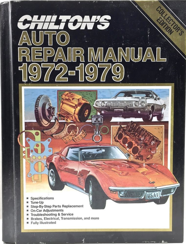 chiltons auto repair manual