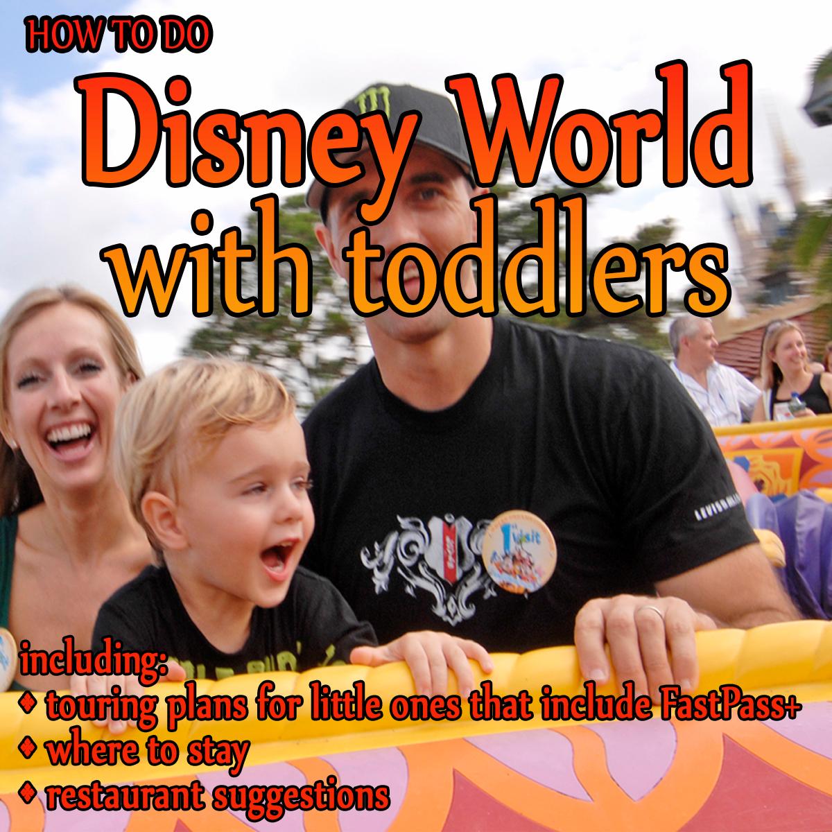 Todddler Centered Disney Touring