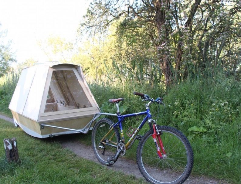 19++ Bicycle camper Wallpaper