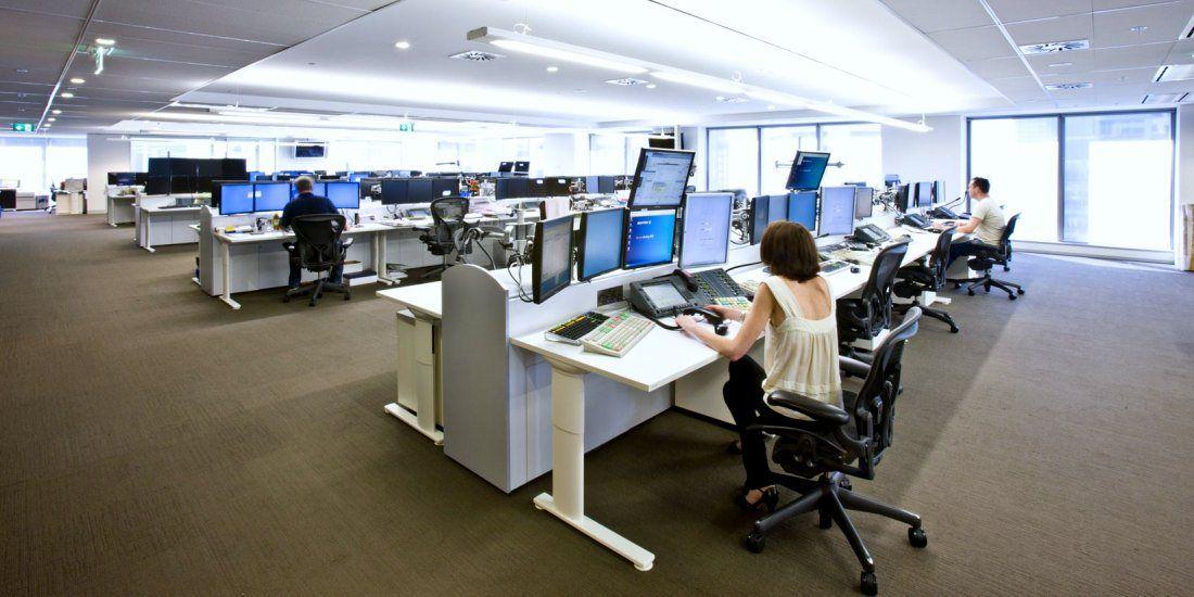 Pin de Catherine Aurora en Trading Room Oficinas