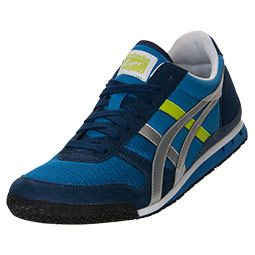 Asics Men's Casual Shoes Ultimate 81 Blue/Grey/Green