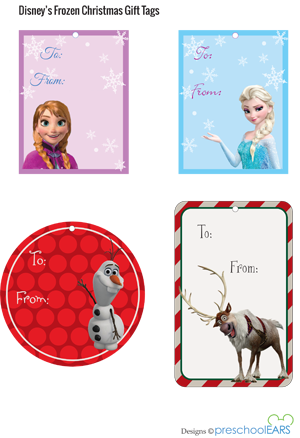 Printable Disney Christmas Gift Tags | Etiquetas, Cumple y Imprimibles