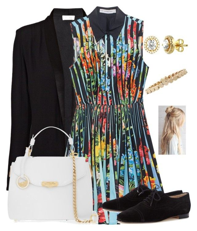 """""""Untitled #468"""" by dcsdsox ❤ liked on Polyvore featuring American Vintage, Mary Katrantzou, Manolo Blahnik, Versace, Eddie Borgo and BERRICLE"""