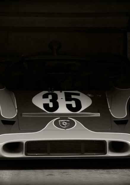 Poster of Porsche 917 Le Mans Giant B/&W Vintage Race Car Huge Print 54x36 Inches