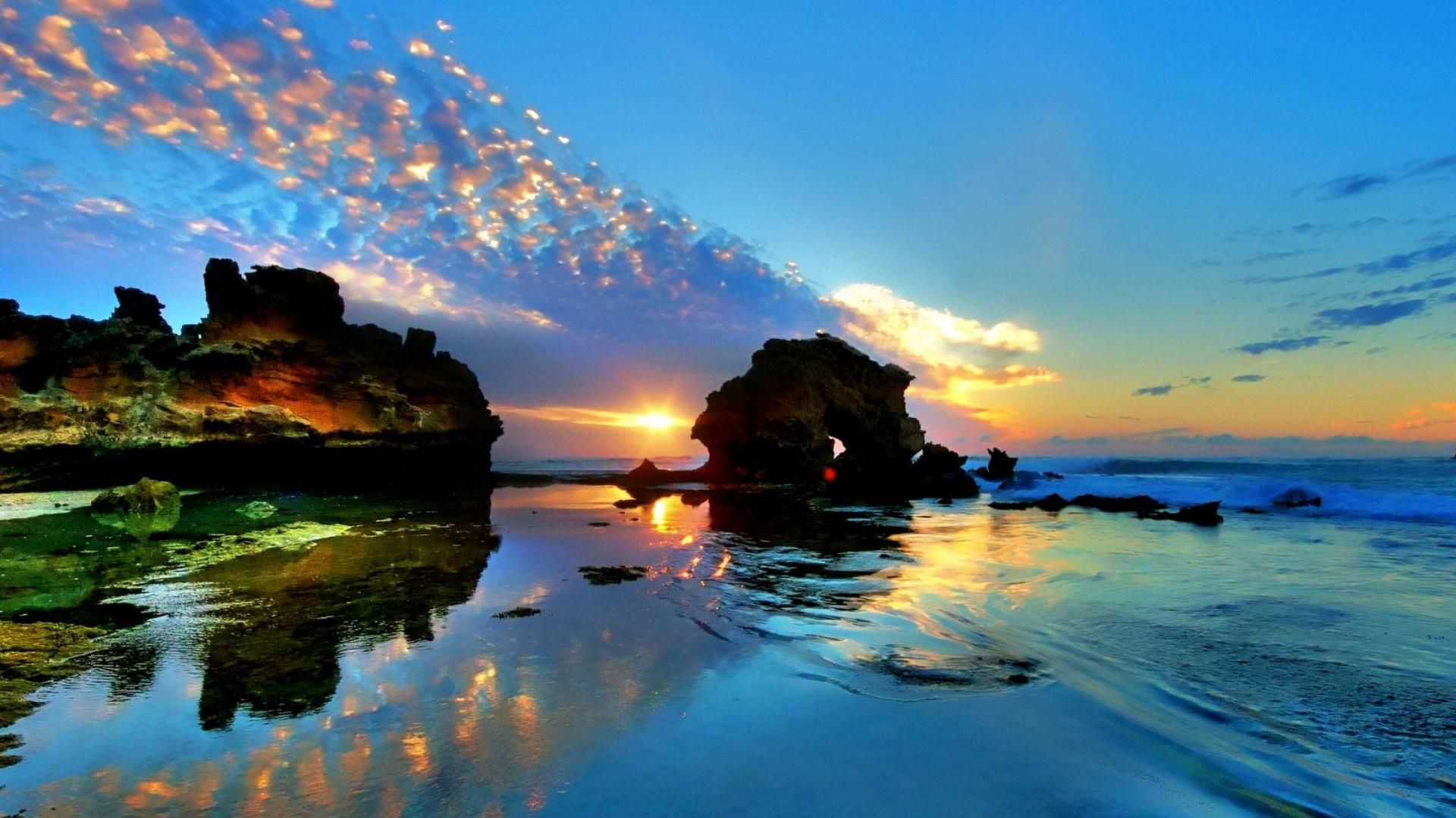 Australia Peninsula Sydney Pirriwee   HD Sunrise On Mornington Peninsula Australia Wallpaper ...