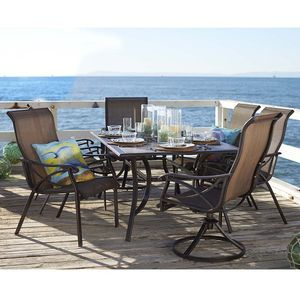 Seaside 7 Piece Dining Set From Orchard Supply Hardware