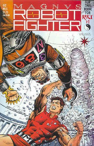 Kickin' It Old School: Magnus #5 and Rai #1 Flip Book, It's Tuesday which means it's time for a new edition of Kickin' It Old School, our weekly column in which we look to the past and review books f...,  #Kickin'ItOldSchool #Magnus #MagnusRobotFighter#5 #Magnus:RobotFighter #PaulTesseneer #Rai #review #ValiantCentral #ValiantComics #VH1 See More: http://all-comic.com/2014/kickin-it-old-school-magnus-5-rai-1-flip-book/