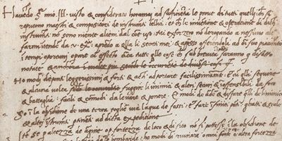 3 Lessons You Can Learn From The World S Oldest Cv Leonardo Da Vinci Lesson Learning