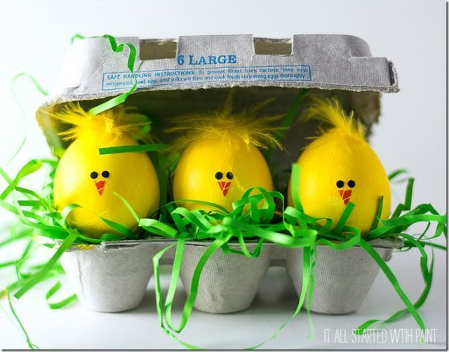 Little Chick Easter Eggs