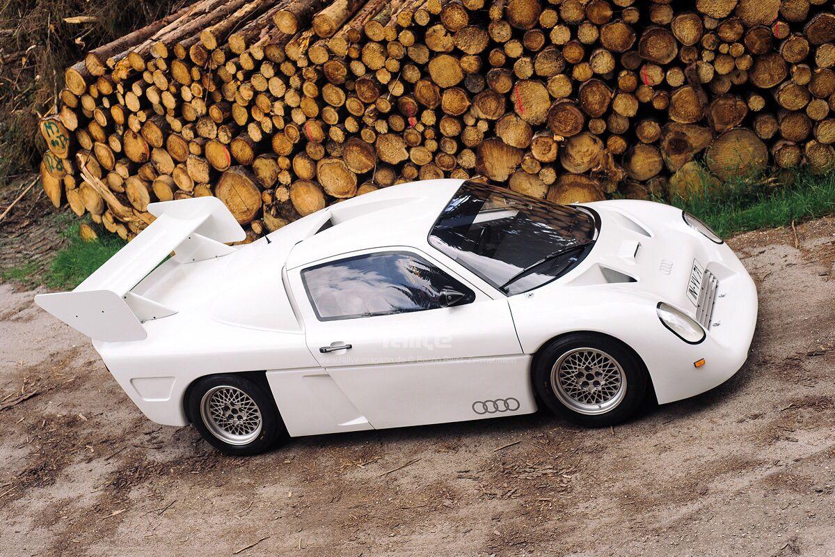 Audi Gruppe S Rallyeauto als geplanter Nachfolger der Gruppe B Rallyefahrzeuge