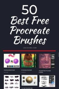 50 of the Best Free Procreate Brushes