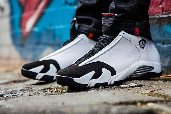 51ae7c4fbc9a Sneaker Central - JORDAN RETRO 14  BLACK TOE  - Foot Locker