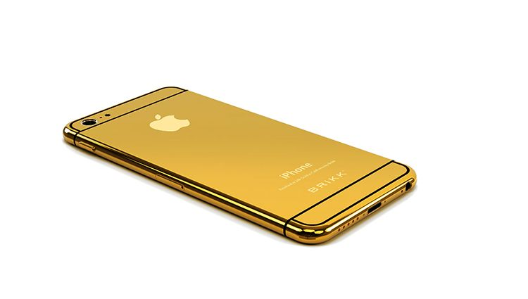 new product d1228 17c46 The iPhone 6 Isn't Official, But A 24-Karat Gold iPhone 6 Is | Tech ...