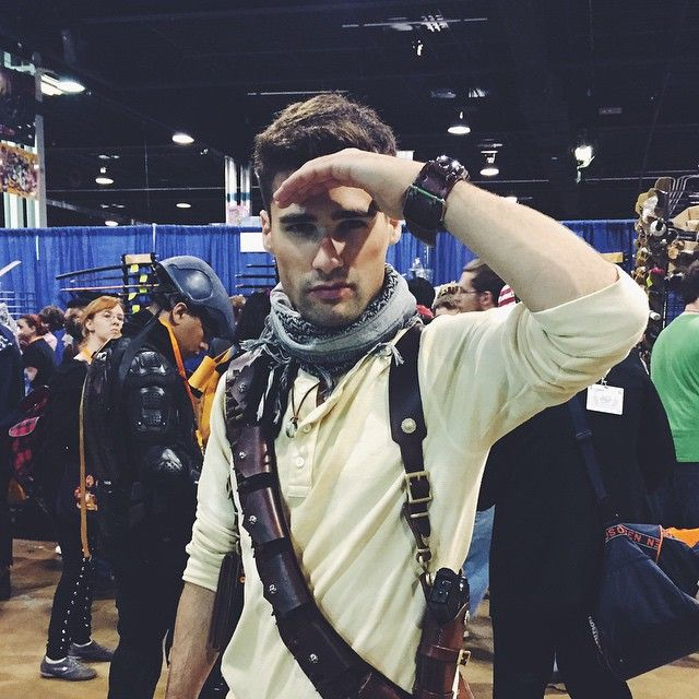 Anime Central Chicago Nathan Drake Uncharted Video Game