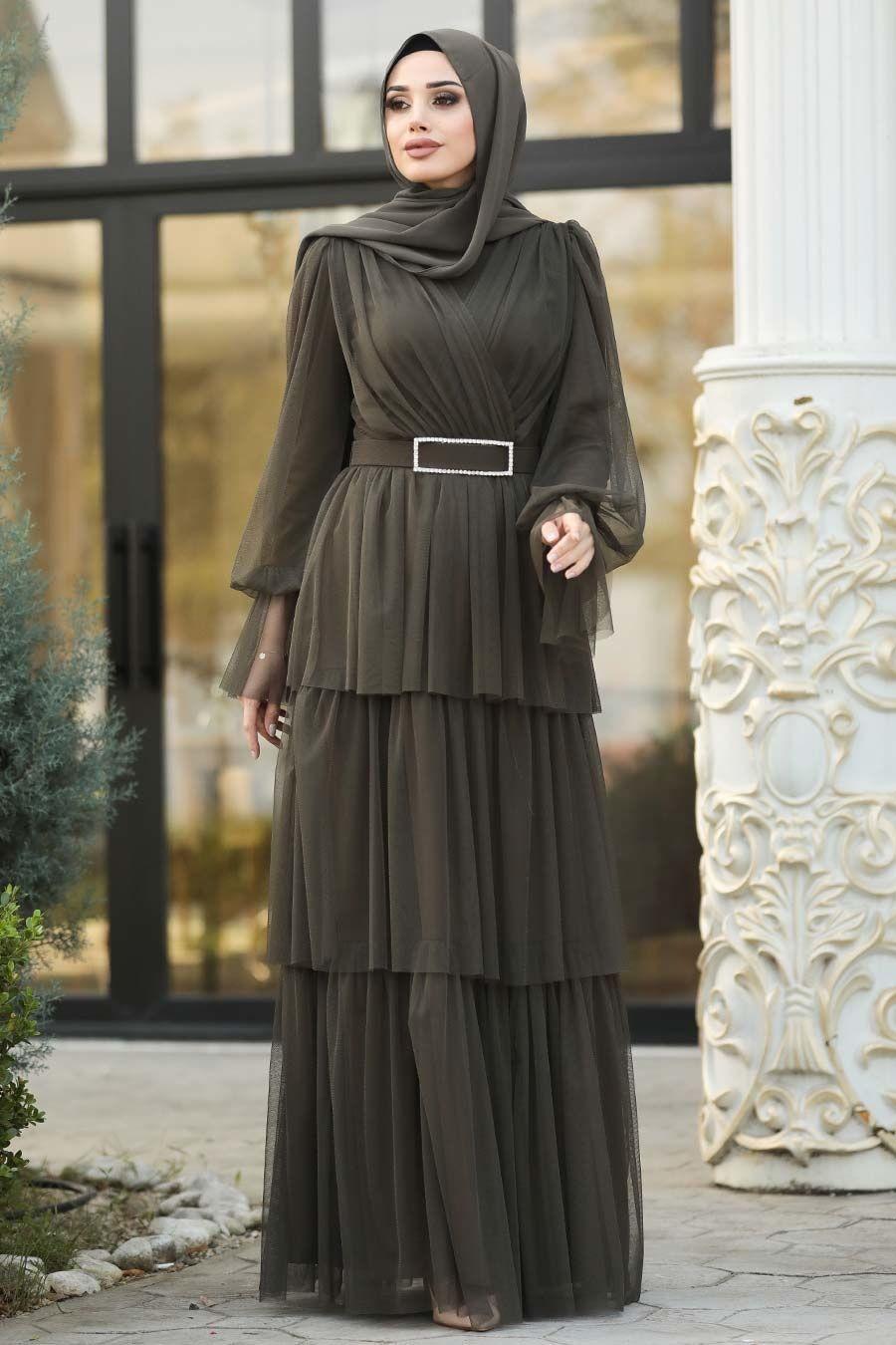 Tesetturisland Com 2019 Yeni Sezon Tesettur Giyim Elbise Sal Abiye De Ucuz Fiyat Elbise Giyim Elbise Modelleri