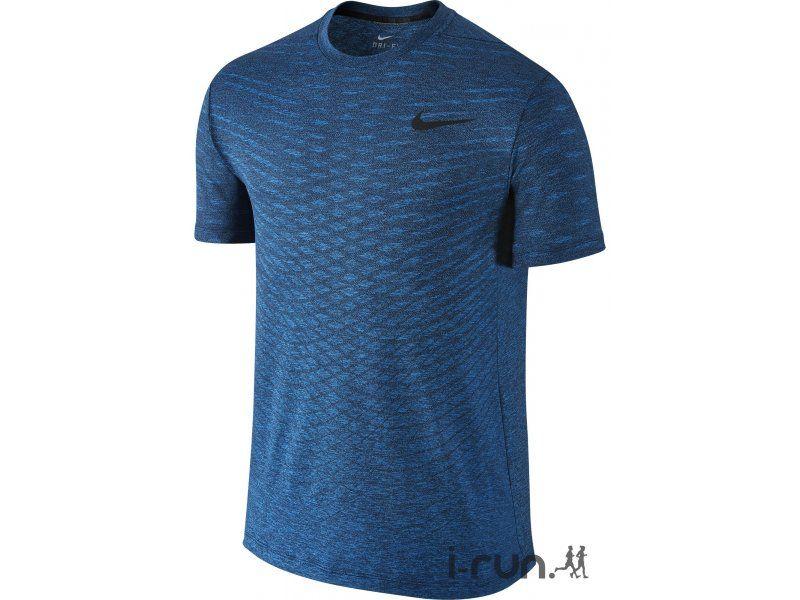 7e17ebf4f83c8 Nike Tee-Shirt Ultimate Dry M pas cher - Vêtements homme running Manches  courtes en promo