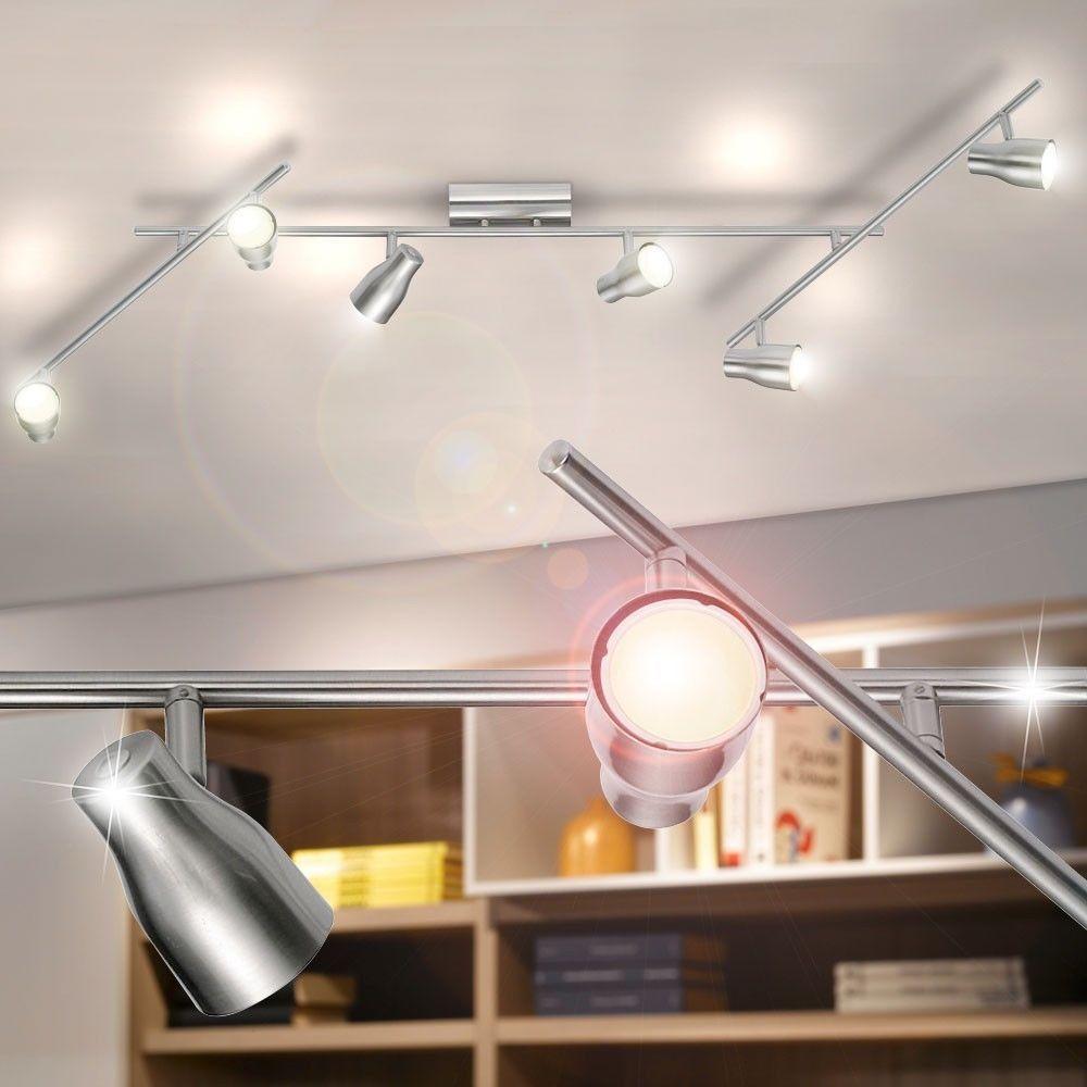 Light rail flexible spotlights ceiling light living ess bedroom