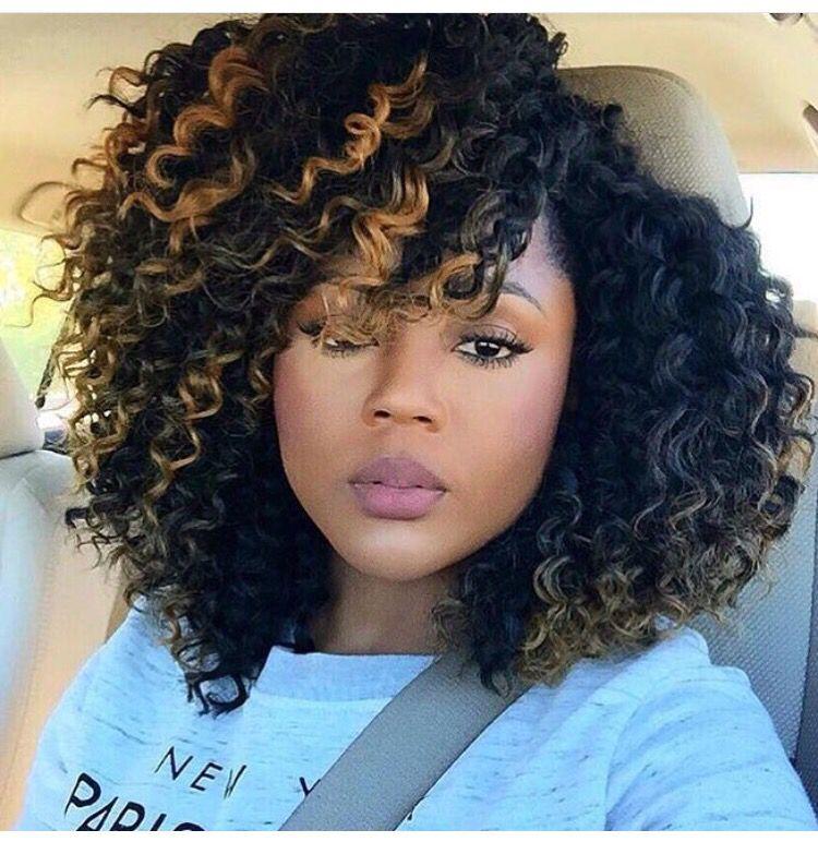 Big Hair Lady Afrika Wearing Equal Style Morrocan Bundle Wave 5pks 14 Natural Hair Styles Hair Styles Crochet Braids Hairstyles