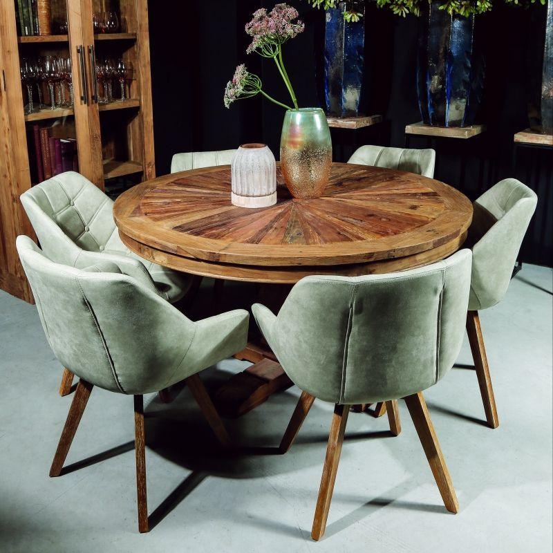 Table de Salle à Manger Ronde Wood