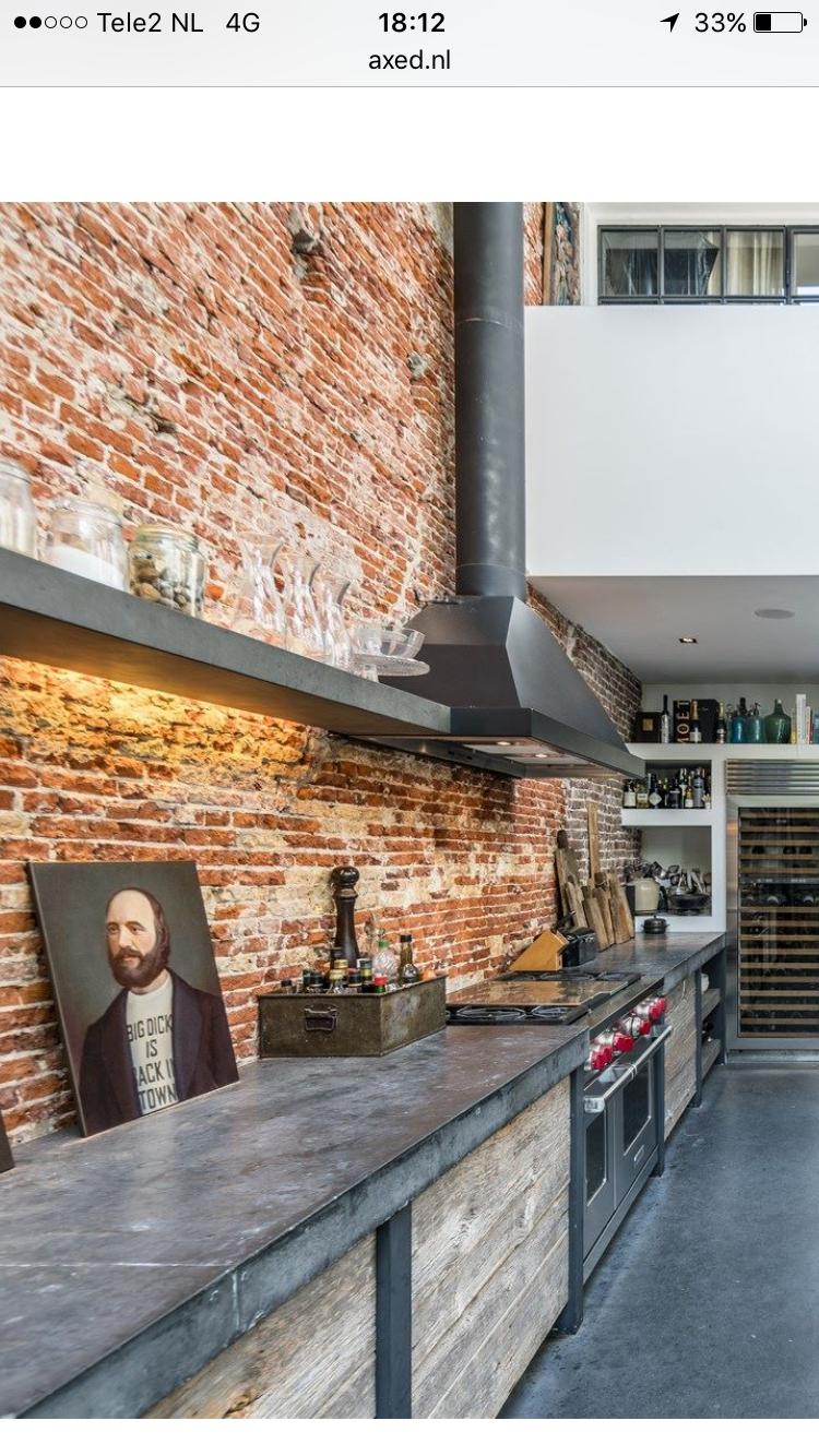 Pin de newdmc en Kitchen   Pinterest   Cocinas, Cocinas industriales ...