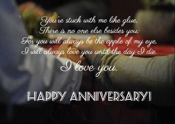 2nd Wedding Anniversary Wishes For Hubby Anniversary Wishes