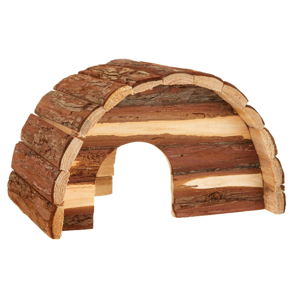 All Living Things Wood Dome Small Pet Hide Small Pet Tunnels
