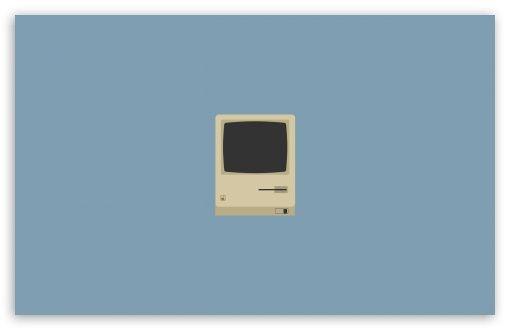 Download Apple Old Computer Hd Wallpaper Desktop Wallpaper Simple Minimalist Wallpaper Simple Wallpapers