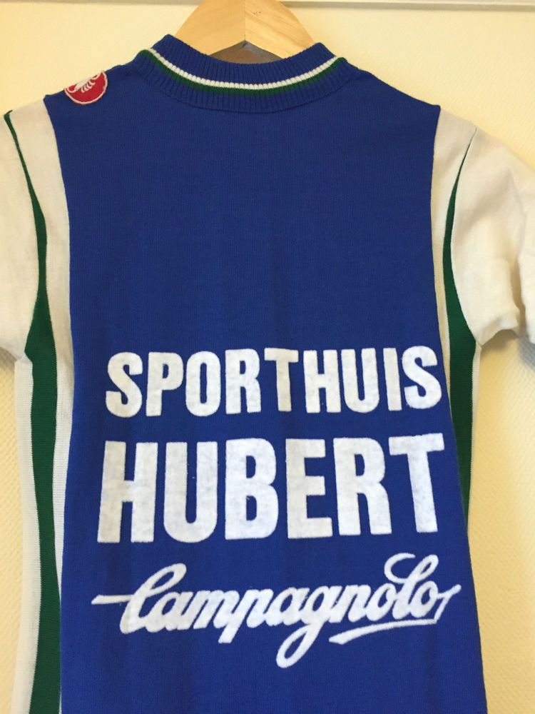 Hubert Campagnolo Wool Vintage Castelli Cycling Jersey d876b4406