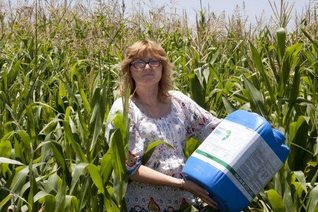 Sofía Gatica, una argentina cordobesa, fue reconocida internacionalmente por su lucha contra las fumigaciones con pesticidas. Recibió el Goldman Environmental Prize #MedioAmbiente