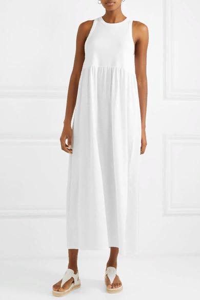 Ninety Percent | Maxi jersey dress, Cotton jersey dress, Dresses