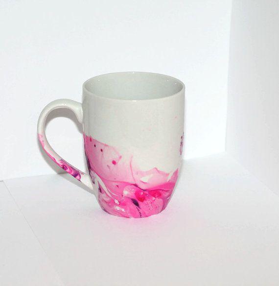 Watercolor Mug Water Color Mug Painted By Appalachianartisans
