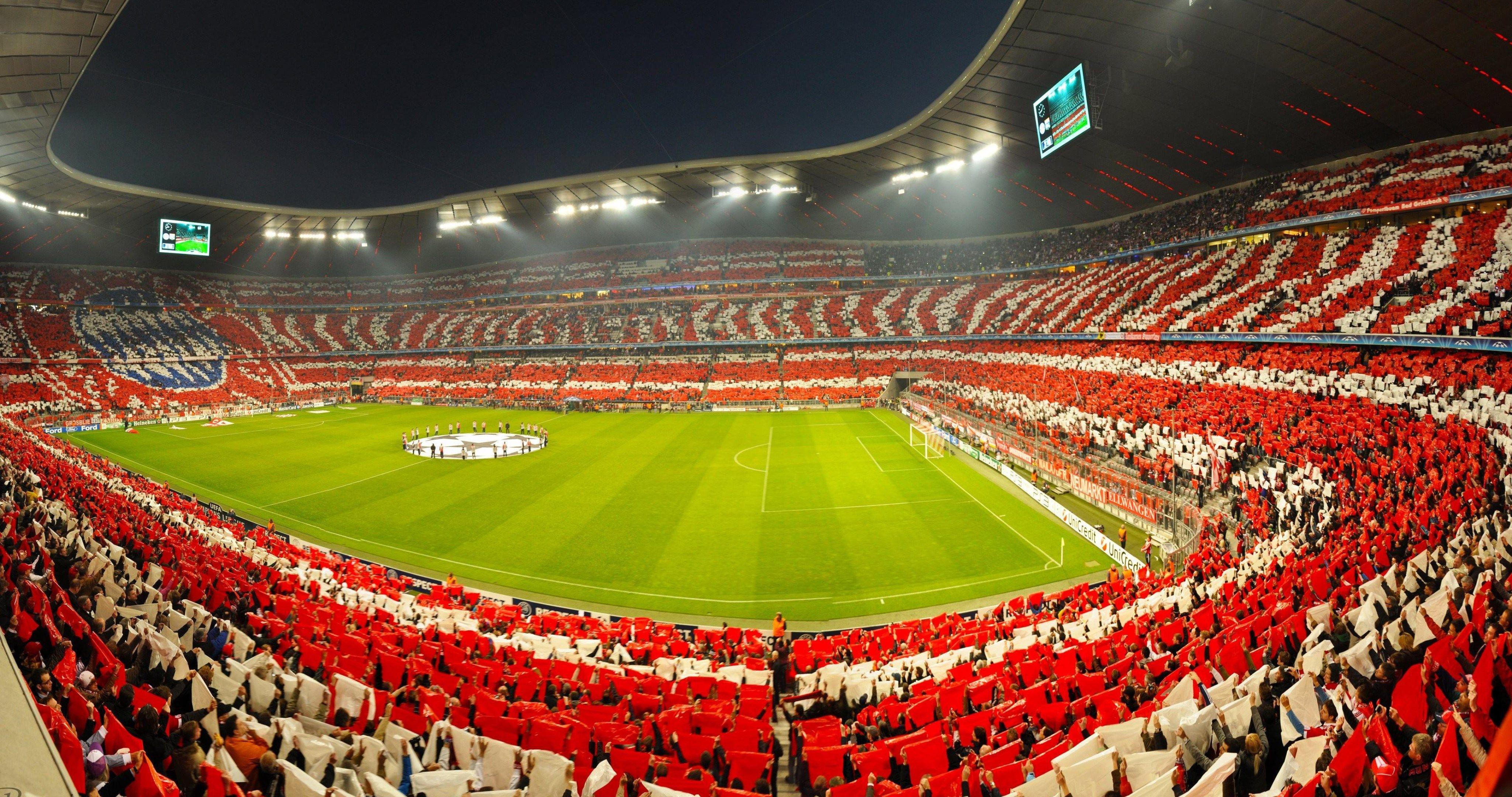 Champions League Semifinal Bayern Munich Vs Lyon 4k Ultra Hd Wallpaper Bayern Munich Wallpapers Bayern Munich Bayern