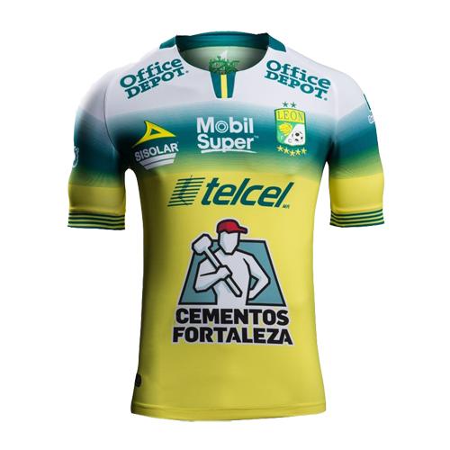 19/20 Club León Away Yellow Jerseys Shirt | Soccer jersey, Jersey ...