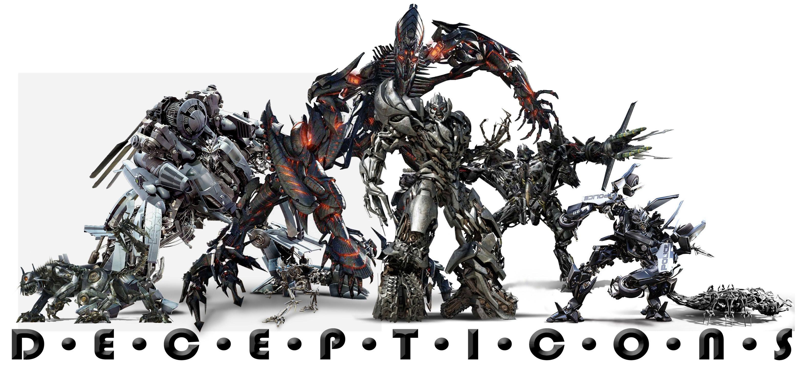 Transformers Decepticons | Transformers vs. Decepticon ...