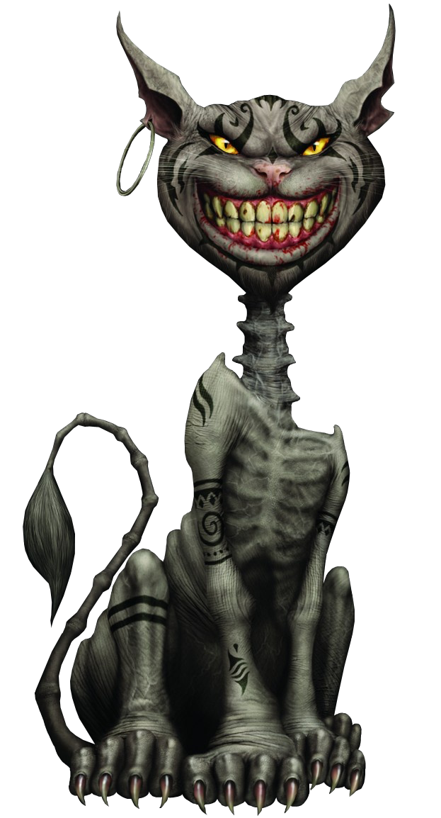 Cheshire Cat from Alice Madness Returns Alice madness