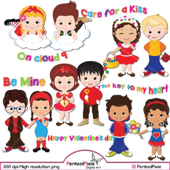 30+ Children's Clipart Valentine's Day