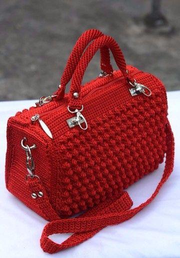 información para tienda oficial selección mundial de Modelos de bolsos y carteras tejidas a gancho gratis ...