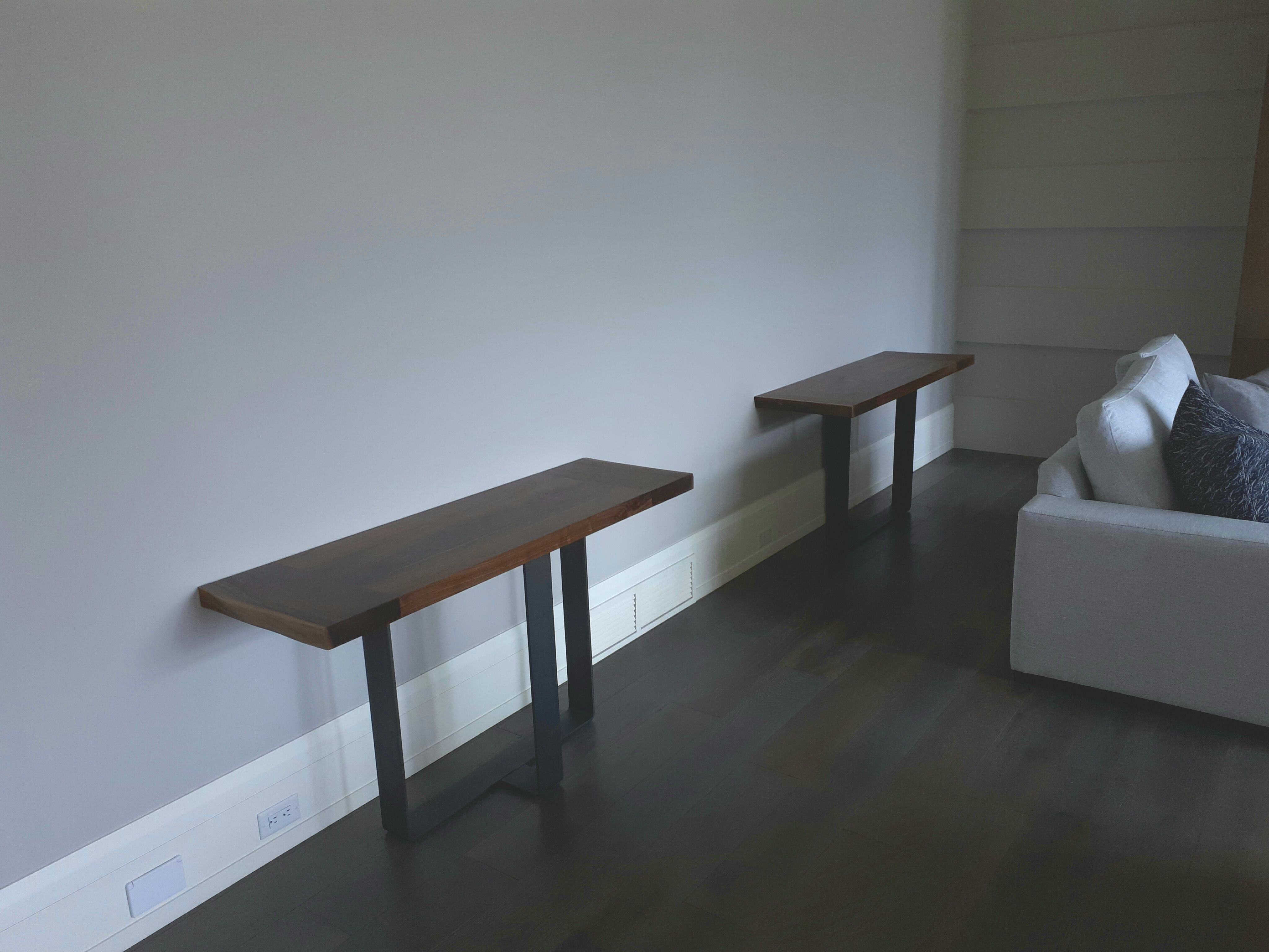Dining table extensions double as side tables | Dining Tables with ...