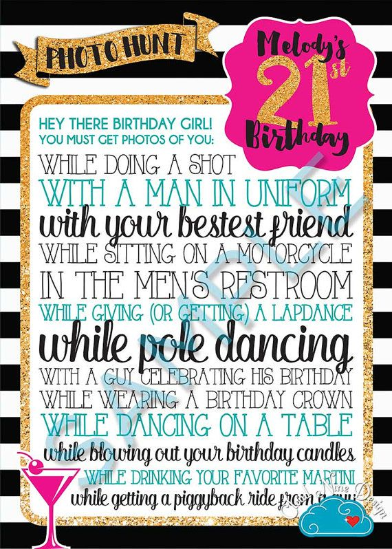 Pin On 21st Birthday
