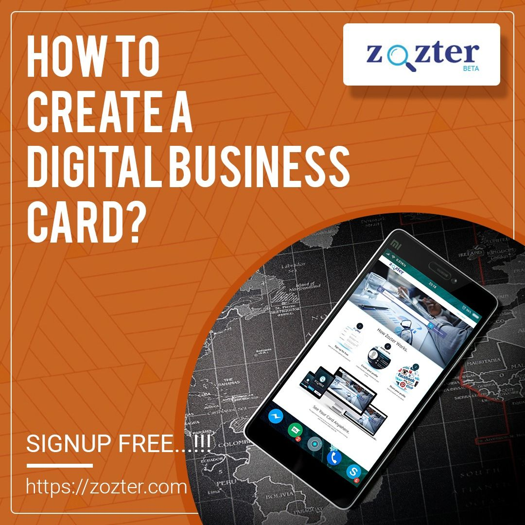 Electronic Business Card Digital Business Card Electronic Business Visiting Cards