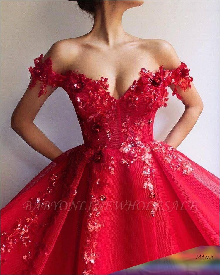 Aug 2, 2019 - Glamorous Ball Gown Off The Shoulder ...