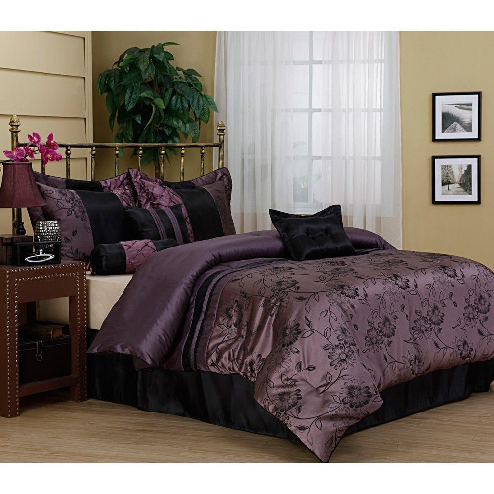 Harmonee Lavender 7 Piece Comforter Set 7399 They Only Have King